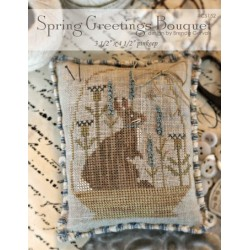 Spring Greetings Bouquet. With Thy Needle and Thread CS152