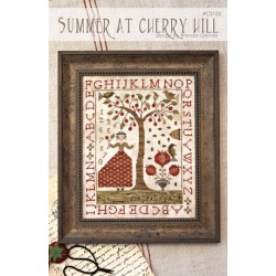 Summer at Cherry Hill. With Thy Needle and Thread CS153