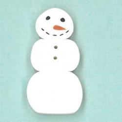 Primitive Snowman JABC 9804