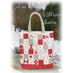 Le sac aux damiers (ficha) Marie's Passion