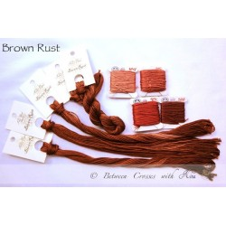 Brown Rust - Nina's Threads