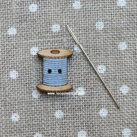 Botón bobina 012 Azul - ADE