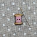Botón bobina 012 Rosa - ADE