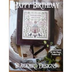Anniversaries of the heart nº 6. happy birthday - BBD
