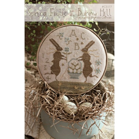 Spring Frolic at Bunny Hill. With Thy Needle and Thread CS177