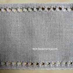 Banda de Lino Zweigart Raw linen. 8,5 cm