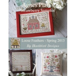 Agnes Platt's Strawberry Sampler - Blackbird Designs