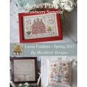 Agnes Platt's Strawberry Sampler - Blackbird Designs