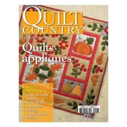 """Quilt Country  especial nº23 """"Quilts Appliqués"""