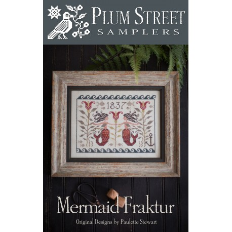 Mermaid Fraktur- PSS44