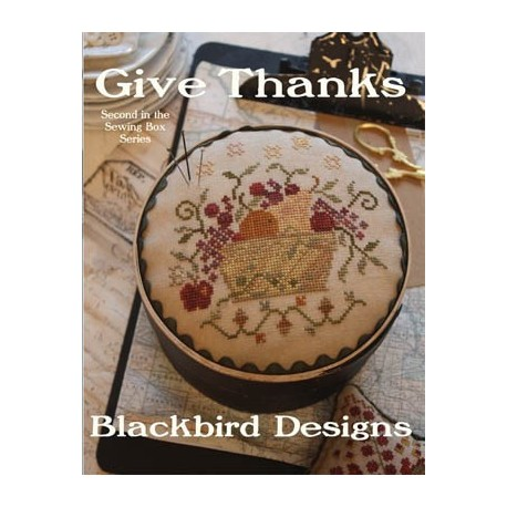 Give Thanks. Sewing box series nº2  - BBD