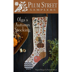 Olga's Autumn Stocking - PSS50