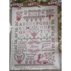 Rose Sampler. Cuore e Batticuore 43
