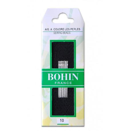 Agujas para bordar con perlas nº 10. Bohin