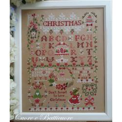 Christmas  Sampler. Cuore e Batticuore 55