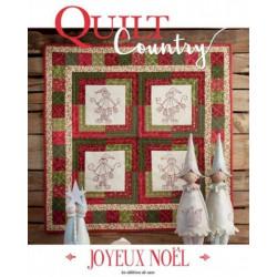 """Quilt Country nº54 """"Joyeux Noël"""""""