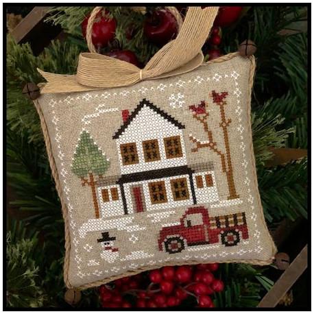 Farmhouse Christmas. Grandpa's pick-up 3/9. LHN