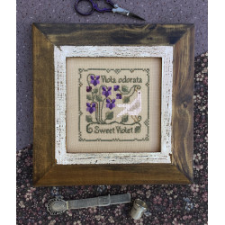 Botanical Stitches. Sweet Violet. TDT 75
