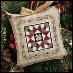 Farmhouse Christmas. Grandma's Quilt 5/9. LHN