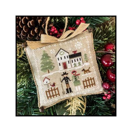 Farmhouse Christmas. Cock-a-doodle-do 7/9. LHN