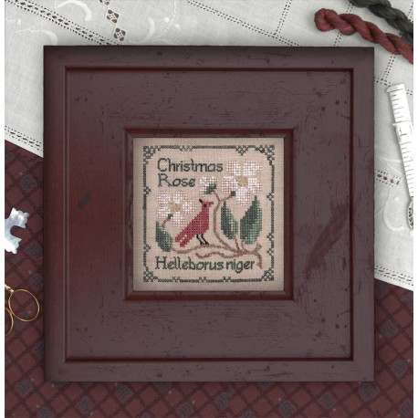 Botanical Stitches. Christmas Rose 77