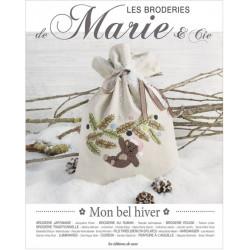 Les Broderies de Marie & Cia 9. Mon bel hiver