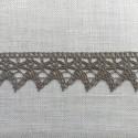 Puntilla de algodón 25 mm Zweigart