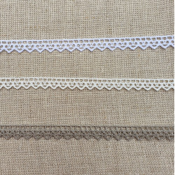 Puntilla de algodón 9 mm Zweigart