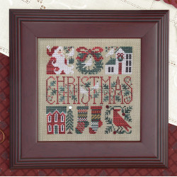 Little Bits of Christmas (Gráfico+ botones y abalorios). The Drawn Thread 88