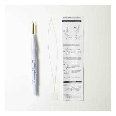 Agujas Punch Needle para lana . Bohin