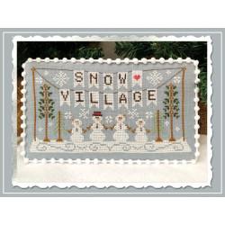 Snow Village. Snow Village Banner 1/11 CCN