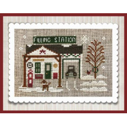 Hometown Holiday. Pop's Filling Station- LHN pc9110