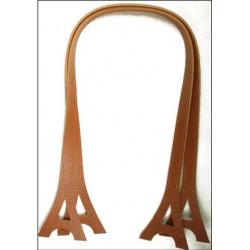 """Par de asas """"Tour Eiffel"""" 65 cm. Marrón claro. Inazuma"""