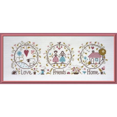 Love, Friends & home. JP FT78