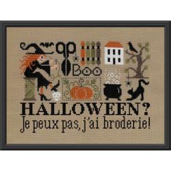 Halloween? Je ne peux pas, j'ai broderie. JP ft86