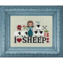 Les p'tites Bonnes femmes. I love Sheep. JP ft84