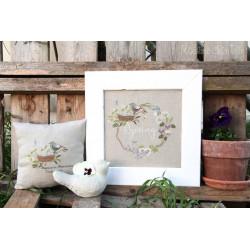 Spring garland. Madame Chantilly 161