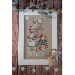Celebrate Winter. Madame Chantilly 202