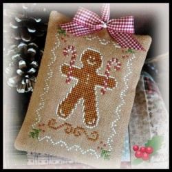 Gingerbread Cookie - Ornamentos 2012- LHN pc55