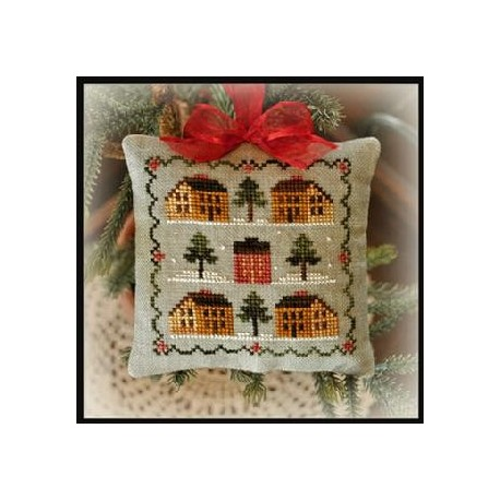 Saltbox Village. Ornamentos 2012 - LHN