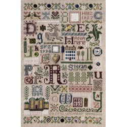 Souvenir Sampler - The Drawn Thread