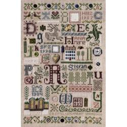 Souvenir Sampler - The Drawn Thread