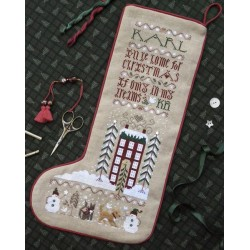 Christmas Dream Stocking - The Drawn Thread