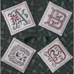 Alphabets Ornaments One (A, B, C and D) - The Drawn Thread