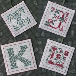 Alphabets Ornaments Three (I, J, K and L) - The Drawn Thread