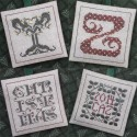 Alphabets Ornaments Seven (Y, Z, and dos bloques personalizables). TDT